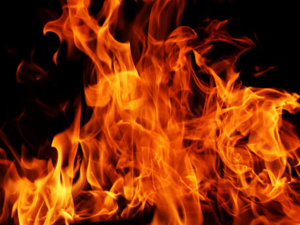 Es brennt die Hütte
