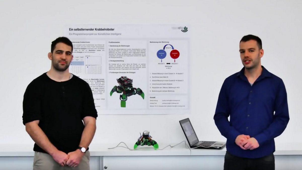 Wie Roboter laufen lernen: Bestärktes Lernen in der Praxis