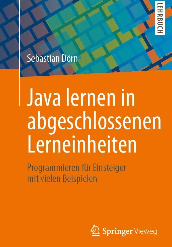 Java lernen in abgeschlossenen Lerneinheiten