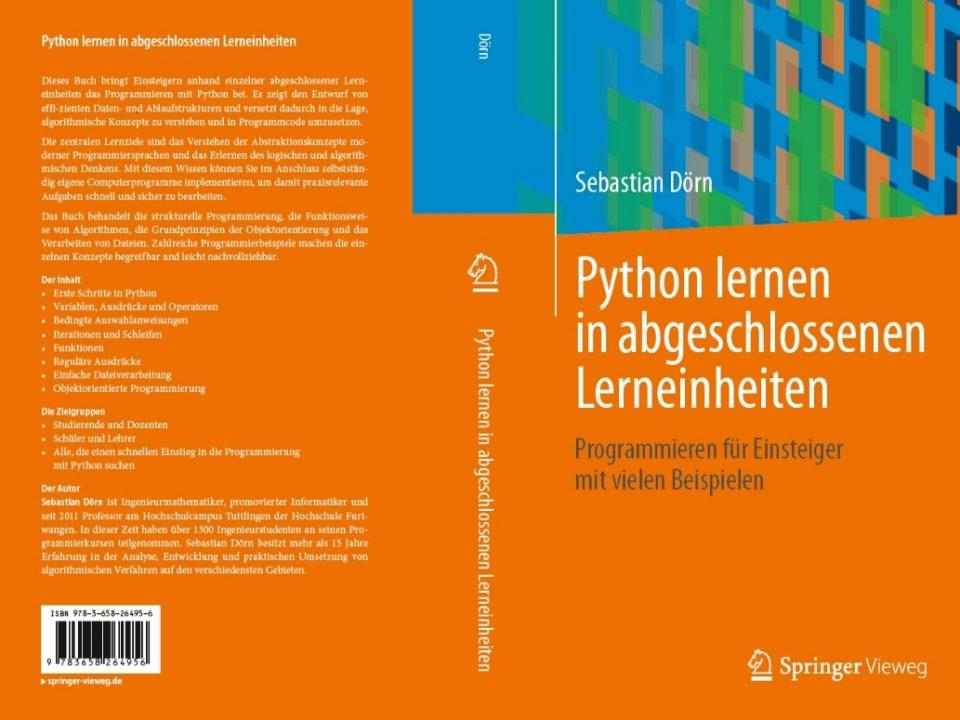 Python lernen in abgeschlossenen Lerneinheiten